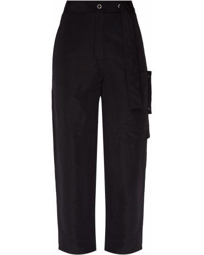 Свободные брюки карго с накладными карманами Acne Studios