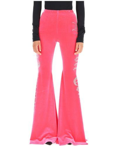 Różowe spodnie Vetements