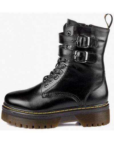 Кожаные ботинки - черные My Day