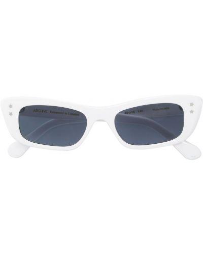 Солнцезащитные очки белый хаки Archive Eyewear