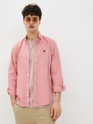 Розовая рубашка с длинными рукавами Jimmy Sanders