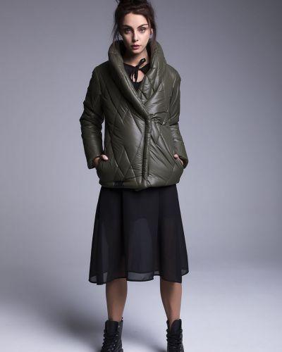 Стеганая куртка - зеленая Naoko