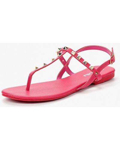 Розовые кожаные сандалии Malien