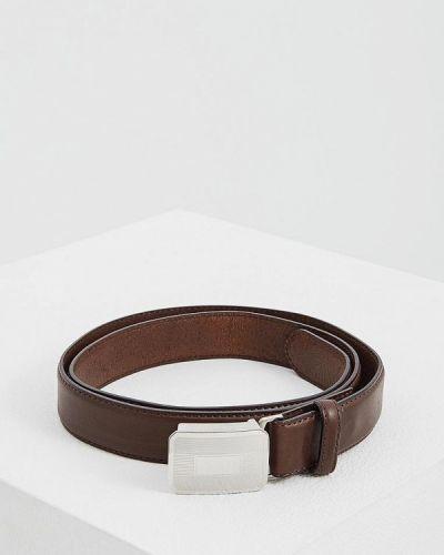 Коричневый ремень Polo Ralph Lauren