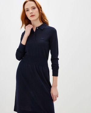 Платье прямое осеннее Lacoste