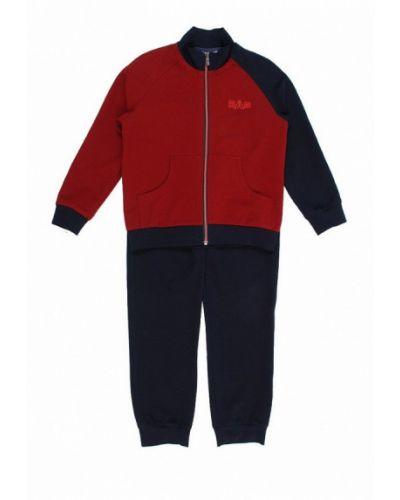 Спортивный костюм синий красный Sab