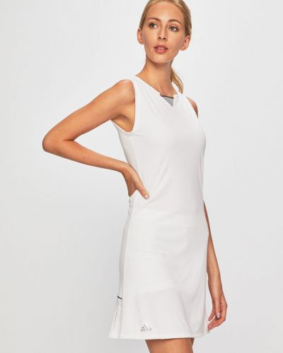 Трикотажное платье - белое Adidas Performance