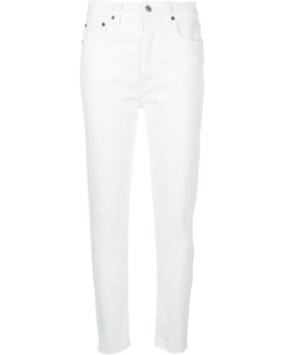 Mom jeans - białe Re/done