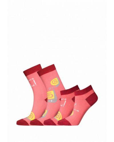 Носки набор розовый Bb Socks