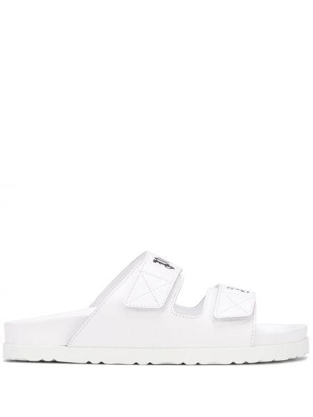 Sandały skórzany biały Palm Angels