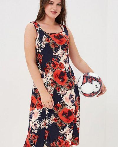 Красное платье весеннее Лори