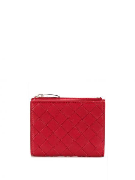 Кожаный кошелек мини с логотипом Bottega Veneta