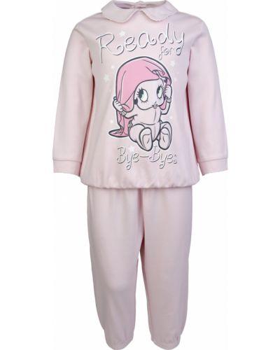 Пижамная розовая пижама с брюками Original Marines