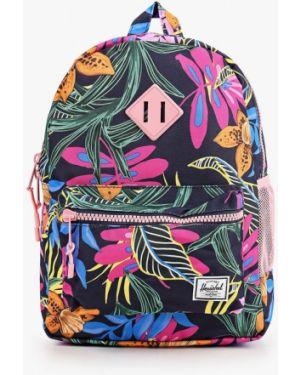 Рюкзак черный текстильный Herschel Supply Co