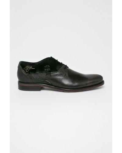 Туфли на шнуровке текстильные Bugatti