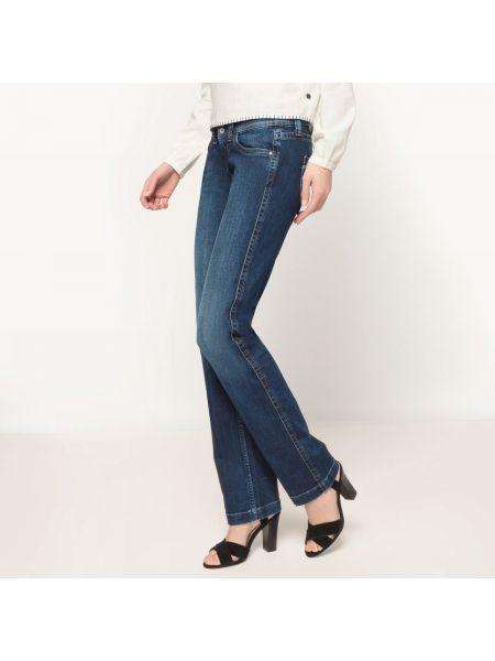 Синие джинсы буткат Pepe Jeans