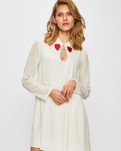 Платье мини с поясом на резинке Glamorous