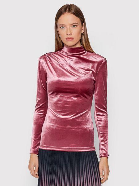Bluzka - różowa Nissa
