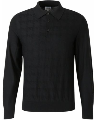 Czarny sweter Brioni