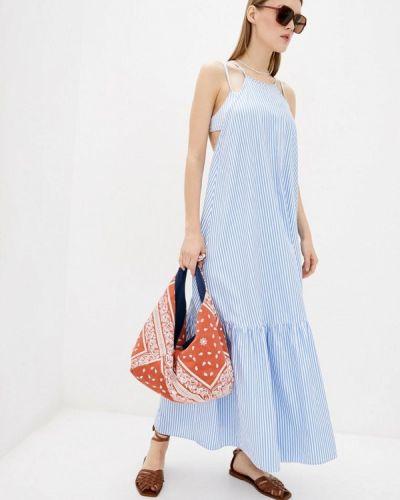 Пляжное платье - голубое Komilfo