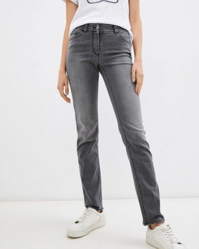 Серые зимние джинсы Gerry Weber