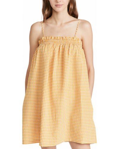Облегающее платье - желтое Bb Dakota