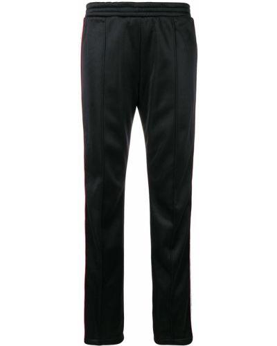 Хлопковые черные спортивные брюки эластичные Forte Dei Marmi Couture