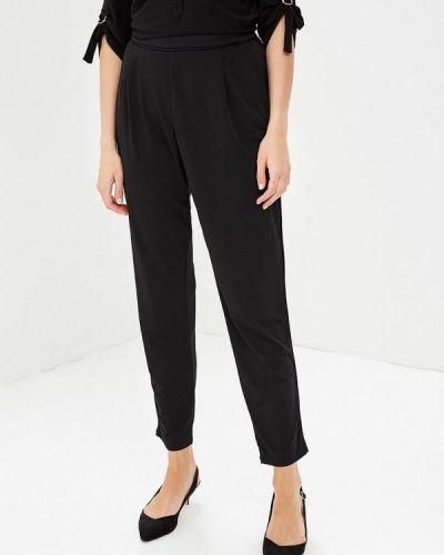 Черные брюки зауженные Wallis