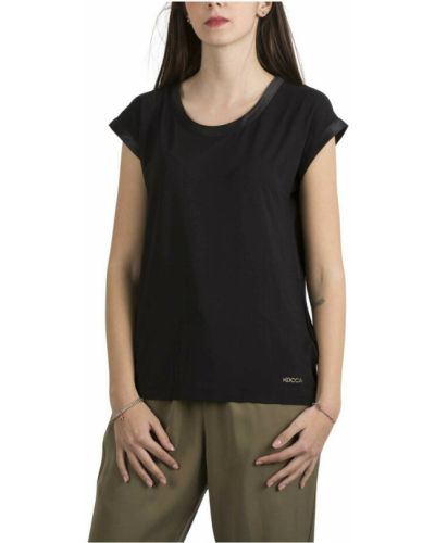 Czarny t-shirt Kocca