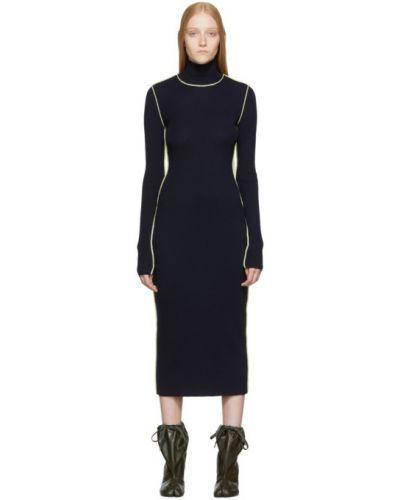 Платье макси деловое вязаное Maison Margiela