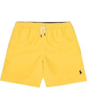 Szorty żółty Polo Ralph Lauren Kids