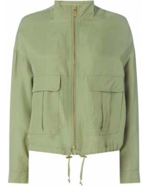 Długa kurtka z kieszeniami z suwakiem Rich & Royal