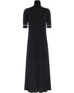 Платье макси вязаное шелковое Loro Piana