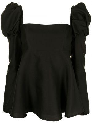 Шелковая блузка - черная Macgraw