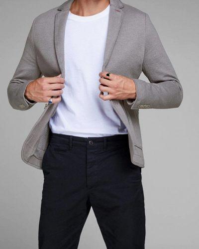 Серый пиджак Jack & Jones