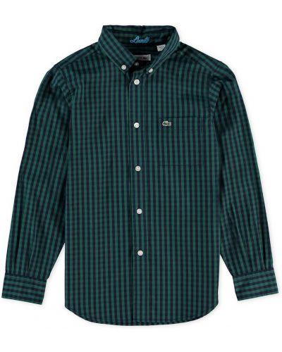 Рубашка зеленый Lacoste
