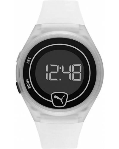 Biały zegarek Puma