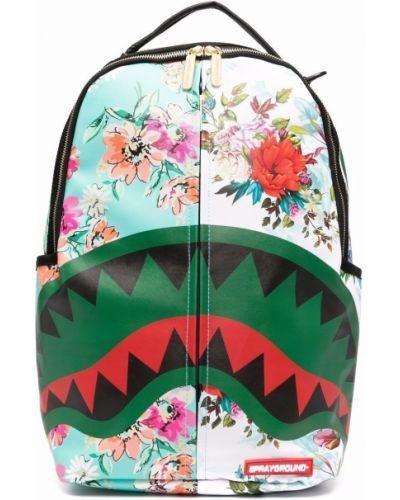Коричневая сумка с карманами Sprayground