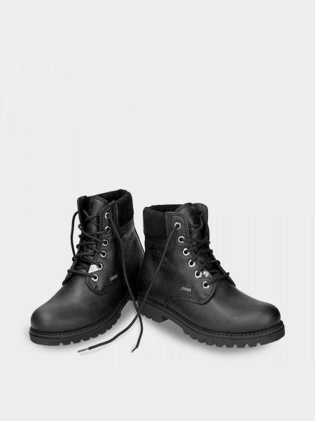 Кожаные ботинки - черные Panama Jack