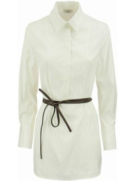 Biała koszula - biała Peserico