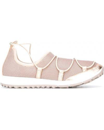 Кроссовки сетчатые Jimmy Choo