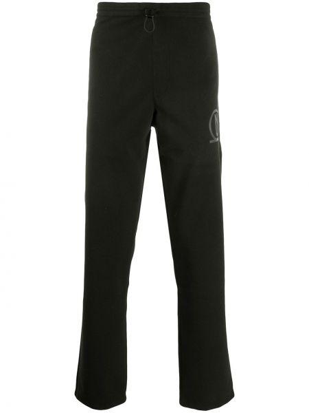 Черные спортивные брюки с поясом Affix