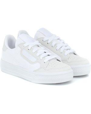 Кроссовки белые Adidas Originals Kids