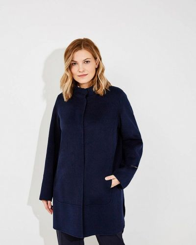 Синее пальто весеннее Persona By Marina Rinaldi