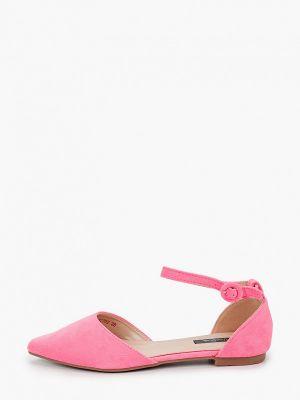 Велюровые розовые туфли Vera Blum