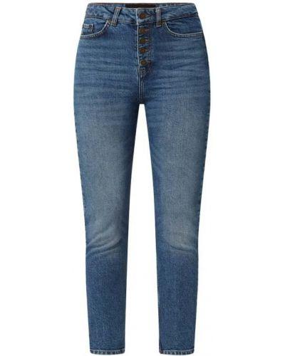 Mom jeans bawełniane - niebieskie The Kooples