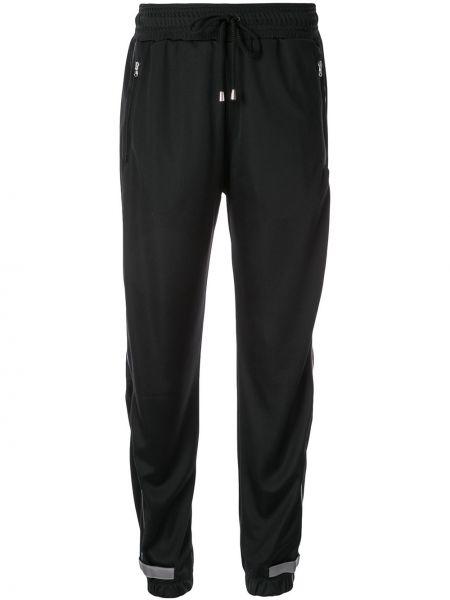 Черные брюки с завязками с поясом Sàpopa