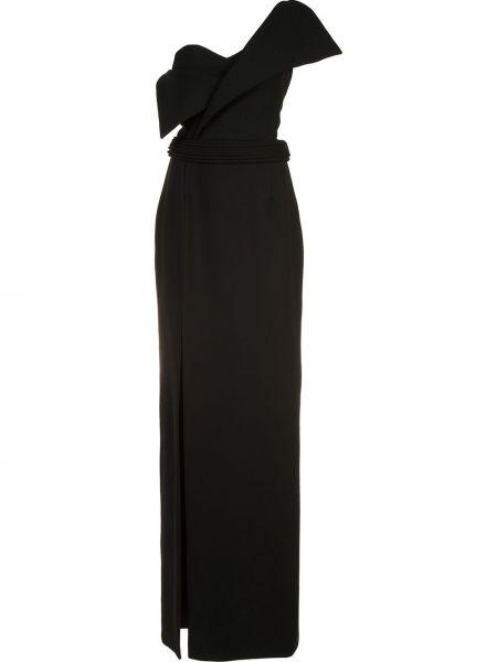 Черное платье Brandon Maxwell