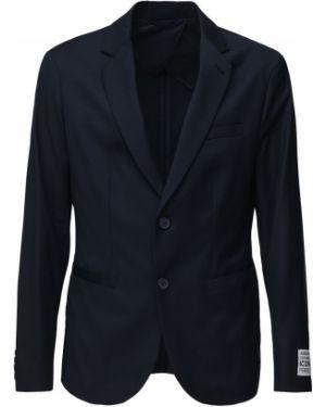 Пиджак двубортный с заплатками Armani Exchange