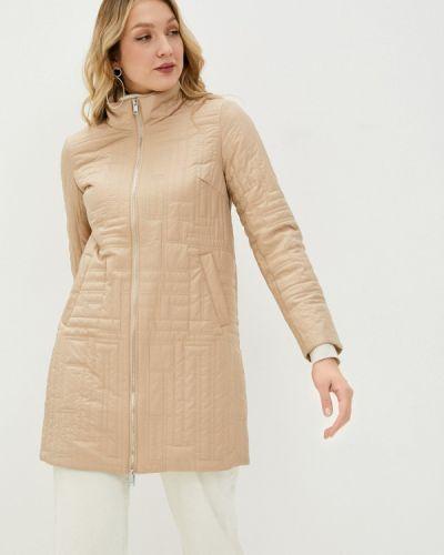 Бежевая утепленная куртка Baon